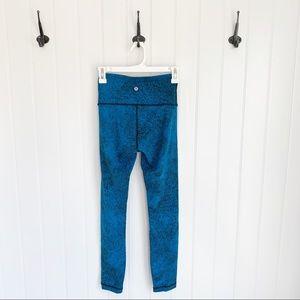 Lululemon Wunder Under Pant Leggings Size 4